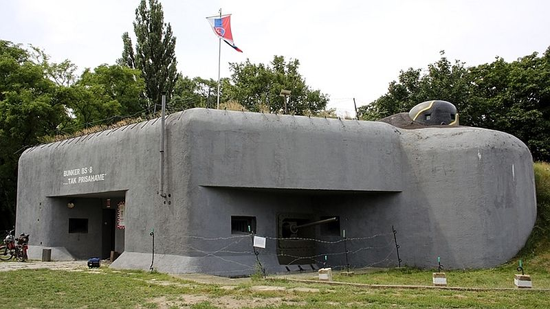 WWII fortifications in slovakia tour