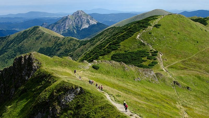 hiking tours slovakia